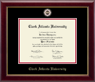 Clark Atlanta University Masterpiece Medallion Diploma Frame in Gallery