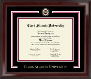 Clark Atlanta University Showcase Edition Diploma Frame in Encore