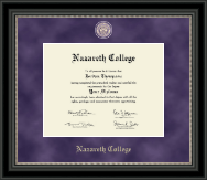 Regal Editon Diploma Frame in Noir