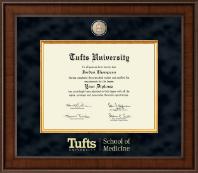 Tufts University Diploma Frames For School Of Medicine Church Hill Classics