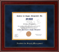 Presidential Edition Certificate Frame in Jefferson