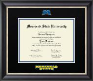 Dimensions Diploma Frame in Noir