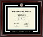 Loyola University Maryland Showcase Edition Diploma Frame in Encore