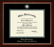 Masterpiece Medallion Diploma Frame in Murano