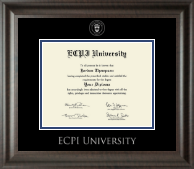 Silver Embossed Diploma Frame in Acadia