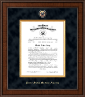 Presidential Masterpiece Commission Certificate Frame in Madison