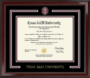 Texas A&M University - Galveston Showcase Edition Diploma Frame in Encore
