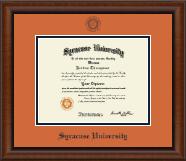 Navy Embossed Diploma Frame in Austin