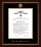 Masterpiece Medallion Commission Certificate Frame in Murano