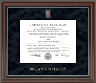 Regal Edition Diploma Frame in Chateau