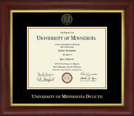 Gold Embossed Diploma Frame in Redding