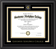 Showcase Edition Diploma Frame in Midnight