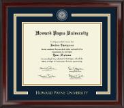 Howard Payne University Showcase Edition Diploma Frame in Encore