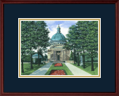 Framed Lithograph in Camby