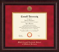 Presidential Gold Engraved Diploma Frame in Premier