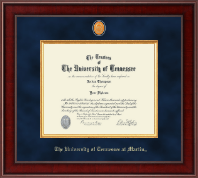 Presidential Brass Masterpiece Diploma Frame in Jefferson