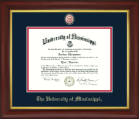 Masterpiece Medallion Diploma Frame in Redding