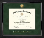 23K Medallion Diploma Frame in Eclipse