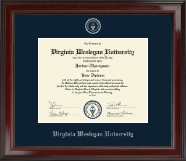 Silver Embossed Diploma Frame in Encore