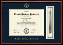 Virginia Wesleyan University Tassel Edition Diploma Frame in Southport