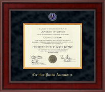 Presidential Masterpiece Certificate Frame in Jefferson