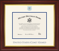 Dimensions Certificate Frame in Redding
