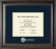 Dimensions Diploma Frame in Acadia