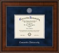 Concordia University Portland Presidential Masterpiece Diploma Frame in Madison