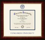 Concordia University Portland Dimensions Diploma Frame in Murano