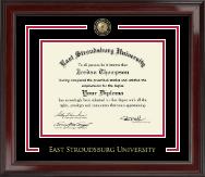East Stroudsburg University Showcase Edition Diploma Frame in Encore