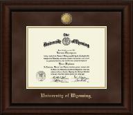 23K Medallion Diploma Frame in Lenox