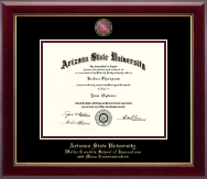 Arizona State University Masterpiece Medallion Diploma Frame in Gallery