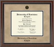 Heirloom Edition Diploma Frame in Chateau