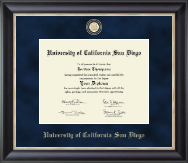 Regal Edition Diploma Frame in Noir
