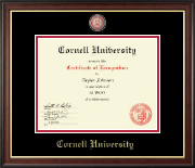 Masterpiece Medallion Certificate Frame in Studio Gold