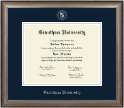 Silver Embossed Diploma Frame in Easton