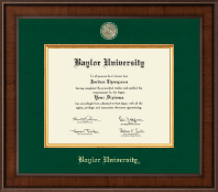 Baylor University Presidential Masterpiece Diploma Frame in Madison