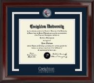 Creighton University Showcase Edition Diploma Frame in Encore