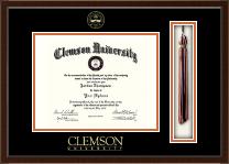 Clemson University Tassel Edition Diploma Frame in Delta