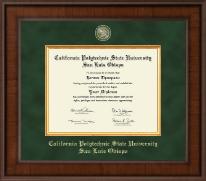 California Polytechnic State University San Luis Obispo Presidential Masterpiece Diploma Frame in Madison