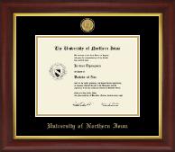 23K Medallion Diploma Frame in Redding