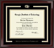 Georgia Institute of Technology Spirit Medallion Diploma Frame in Encore