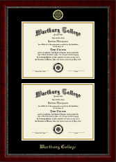 Double Diploma Frame in Sutton