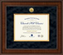 Presidential Dental Certificate Frame in Madison