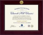 Century Registered Nurse Certificate Frame in Cordova
