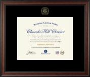 Embossed Registered Nurse Certificate Frame in Studio