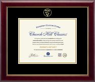 Embossed Veterinary Certificate Frame in Gallery