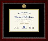Engraved Licensed Practical Nurse Certificate Frame in Sutton