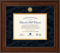 Presidential Medical Certificate Frame in Madison