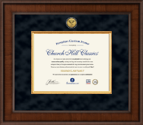 Presidential Chiropractic Certificate Frame in Madison